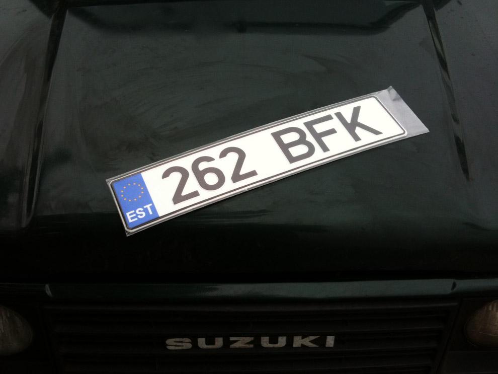 Suzuki Samurai SJ413 262BFK