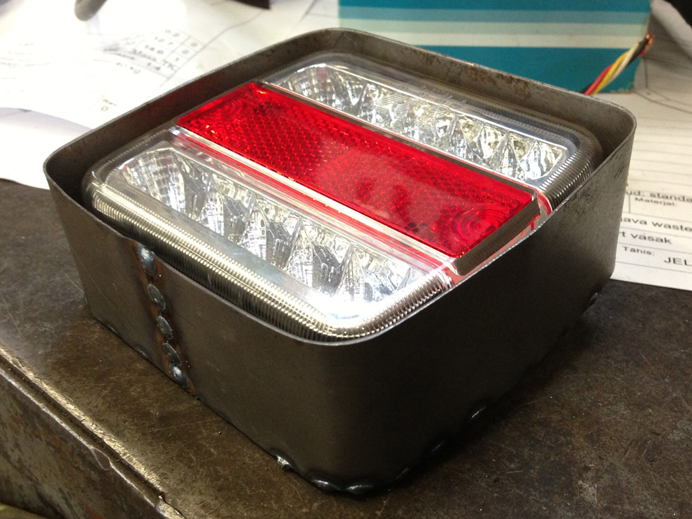 Suzuki Samurai SJ413 LED lights